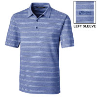 MEN'S FORGE POLO HEATHER STRIPE