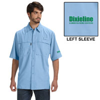 DIXIELINE DRI DUCK MEN'S SHORT-SLEEVE CATCH